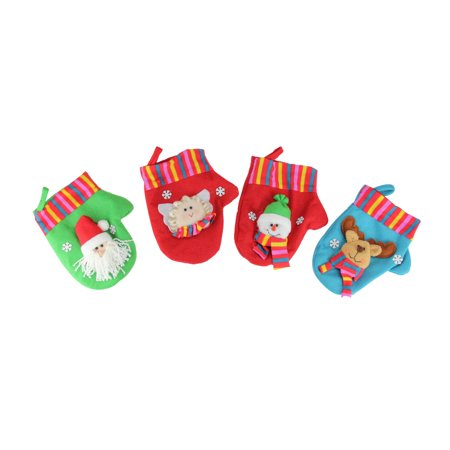 10-Piece Winter Wonderland Christmas Stocking and Novelty Gift Bag Set - Novelty Christmas Gifts