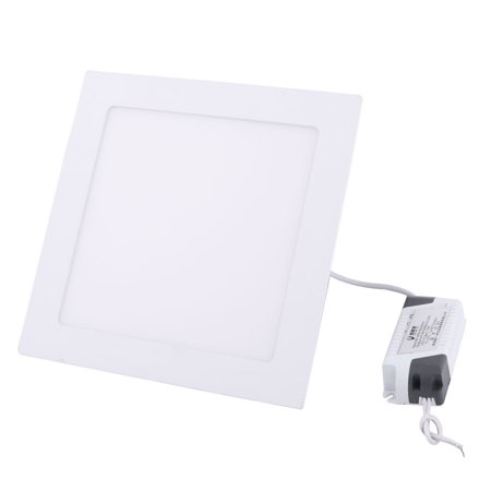 White 15W Square Home Dimmable LED Recessed Ceiling Panel Down Light AC85-265V - image 5 of 5