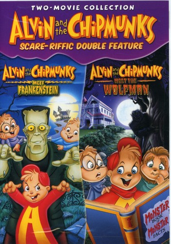 Alvin and the Chipmunks Scare-riffic Double Feature by UNIVERSAL HOME ENTERTAINMENT