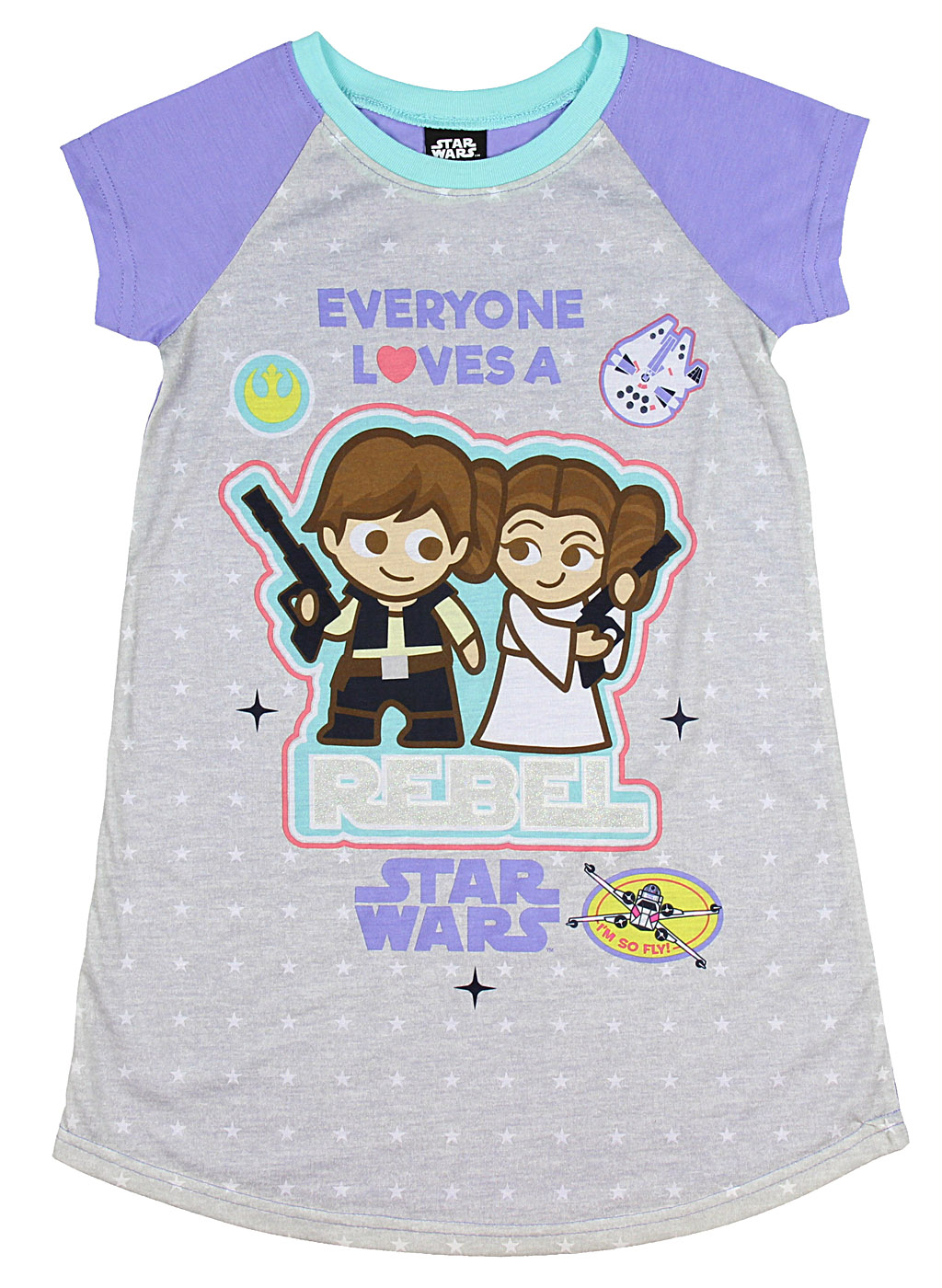 Girls' Everyone Loves A Rebel Nightgown