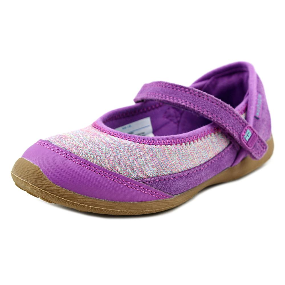 Stride Rite M2P Terry Youth US 10.5 Purple Mary Janes