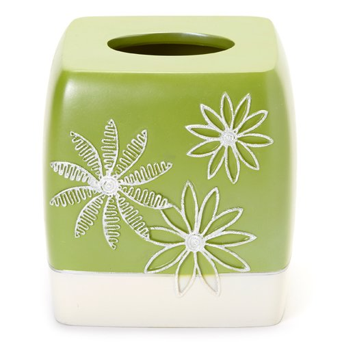Popular Bath Daisy Stitch Tissue Box Cover
