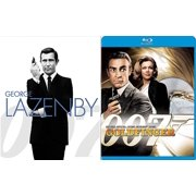 Sean Connery 007 Goldfinger James Bond Blu Ray + George Lazenby On Her Majesty's Secret Service double feature by