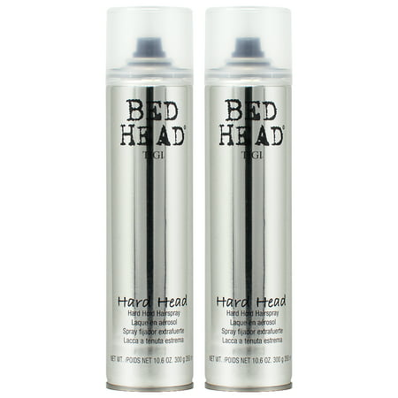 Tigi Bed Head Hard Head Spray 10.6 Oz Each (Pack of