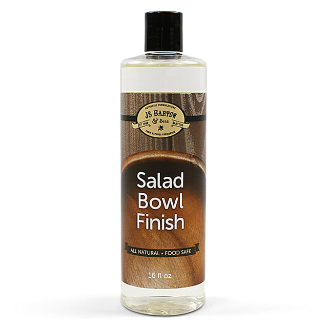 Bartow and Sons All Natural Salad Bowl Finish by