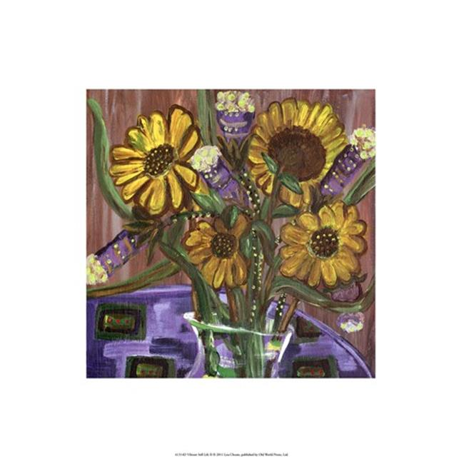 Posterazzi OWP41314D Vibarnt Still Life II Poster by Lisa Choate -13.00 x 19.00 - image 1 of 1