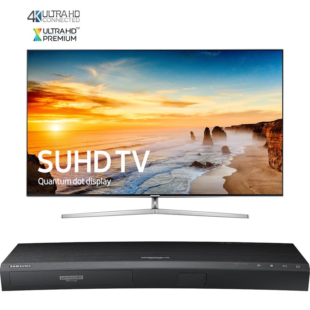 Samsung 65-Inch 4K SUHD Smart LED TV w/ Ultra-Slim Bezel ...