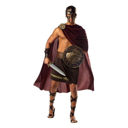 Men's Greek Spartan Warrior Costume for $<!---->