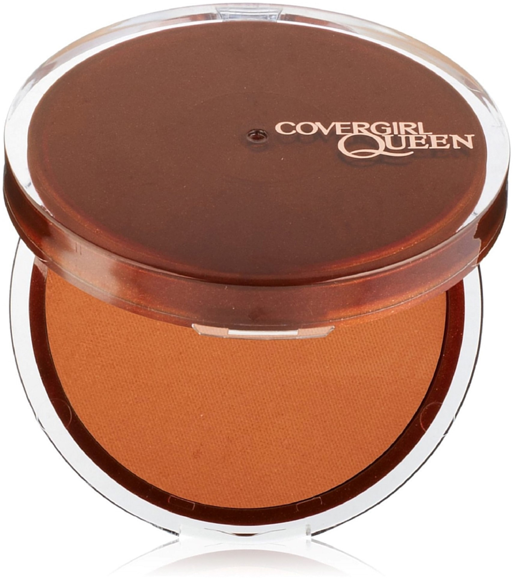 CoverGirl Queen Collection Lasting Matte Pressed Powder, Medium Deep [Q425] 0.37 oz (Pack of 2)