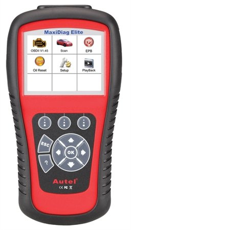 Autel Maxidiag Elite Full System and Live Data,Oil Service Reset,Epb Auto Diagnostic Scanner MD802