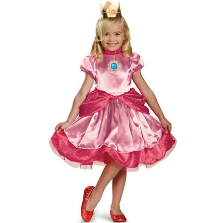 Princess Peach Toddler Costume - Mario Kart Princess Peach Costume