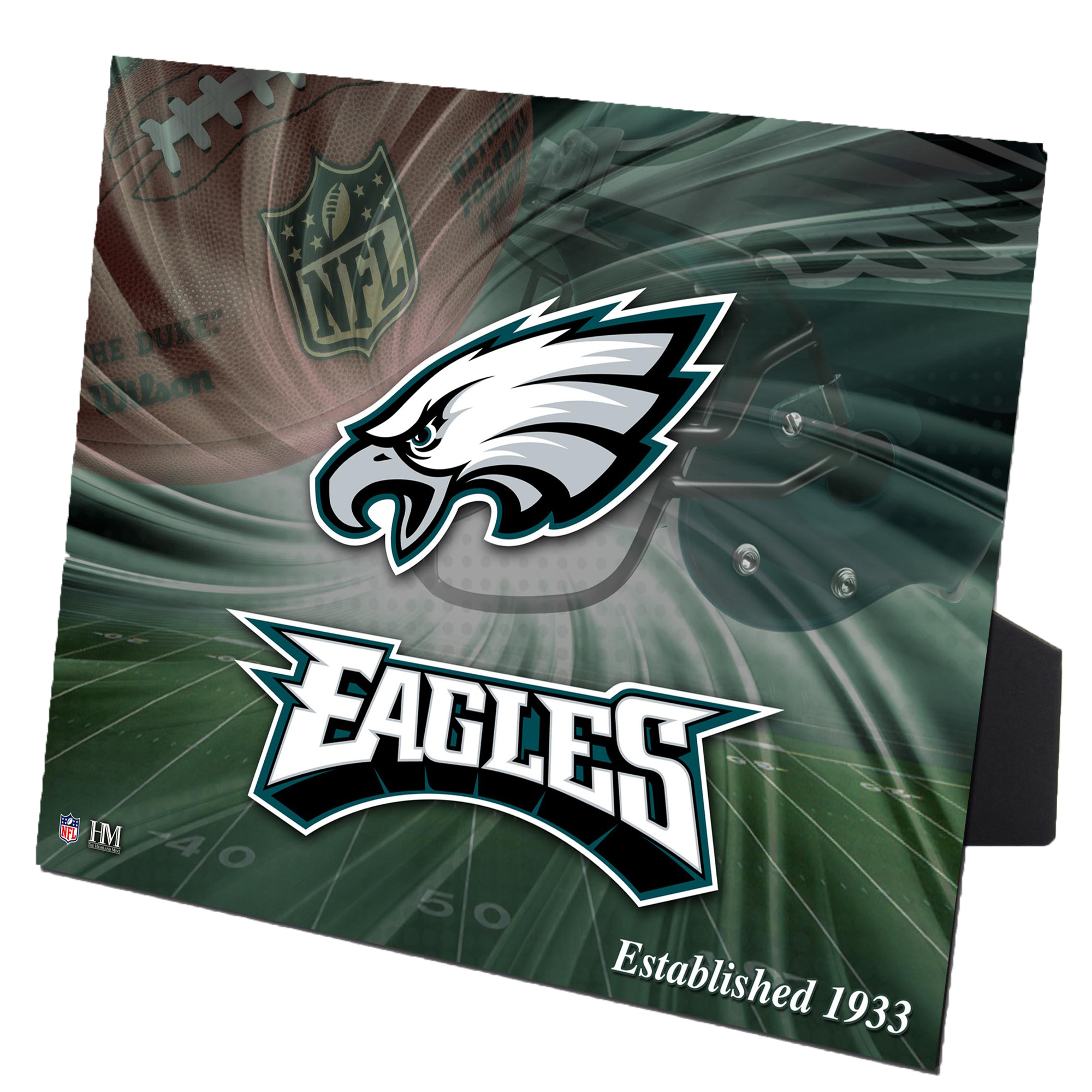 "Philadelphia Eagles Highland Mint 8"" x 10"" PleXart Photo - No Size"
