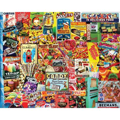 Penny Candy 1000 Piece Collage Puzzle