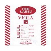 Super Sensitive Red Label Viola G String Sub-Mini (11-in.)