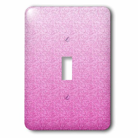 3dRose Girly Pink Faux image of Glitter, 2 Plug Outlet Cover Faux Antler Outlet Cover