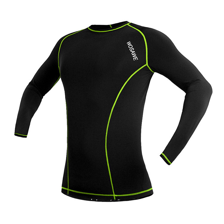 Grtsunsea Unisex Long Sleeve Bicycle Bike Jersey Breathable Sports Shirt Cycling Clothing Sportswear