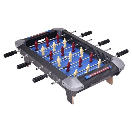 Goplus Miniature 28'' Table Foosball Football Soccer Game Competition Sports Indoor