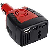 FireAnt Home Travel Car Charger Power Inverter For 3 pin Socket 110V 220v 150W AC And USB 5V And 500mA