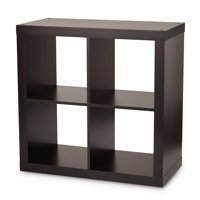 Better Homes & Gardens Square 4-Cube Organizer, Espresso