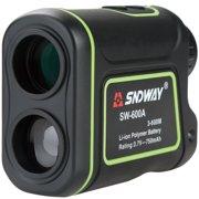 TOOLTOO 8X Magnification 656 Yards Golf Rangefinder -Rechargeable Laser Rangefinder Laser Binoculars , IP54 Waterproof, for Golfing, Hunting, Racing, Black