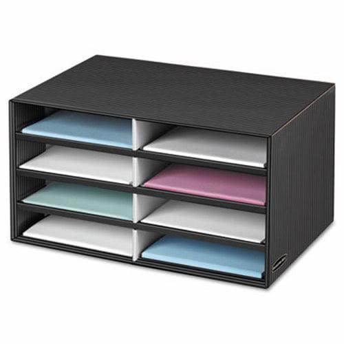 Bankers Box Decorative Eight Compartment Literature Sorter, Letter (FEL6170301)