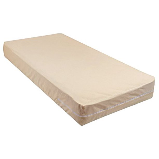 gilbins 100% cotton fleetwood mattress cover, zips around the