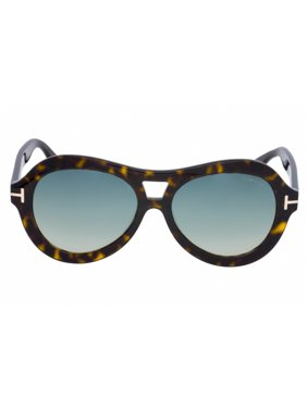 c4ee47da1f2 Product Image Tom Ford Oval Sunglasses TF514 Isla 52W Dark Havana 56mm  FT0514
