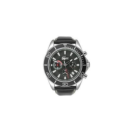 Lacoste Sport Navigator (Sportswear Collection Sport Navigator Chrono Black Dial Men's watch #2010459 )