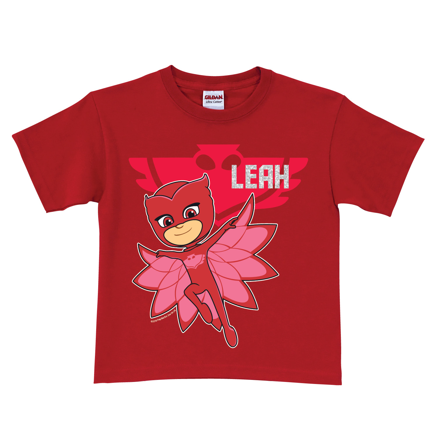 PJ Masks Owlette Red Toddler T-Shirt - 2T, 3T, 4T, 5/6T