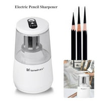 Automatic Electric Pencil Sharpener Plug in / Battery Operated School Office Stationery,School Pencil Sharpener