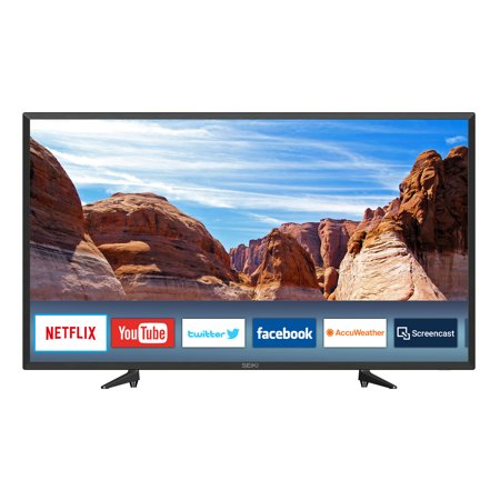 """SEIKI 40"""" Class FHD (1080P) Smart LED TV (Best Tv Under 40 Inches)"""