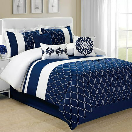Homechoice International Group Malibue 7 Piece Comforter Set