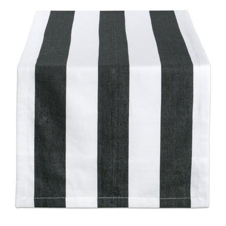 Design Imports Dobby Stripe Table Runner, 72