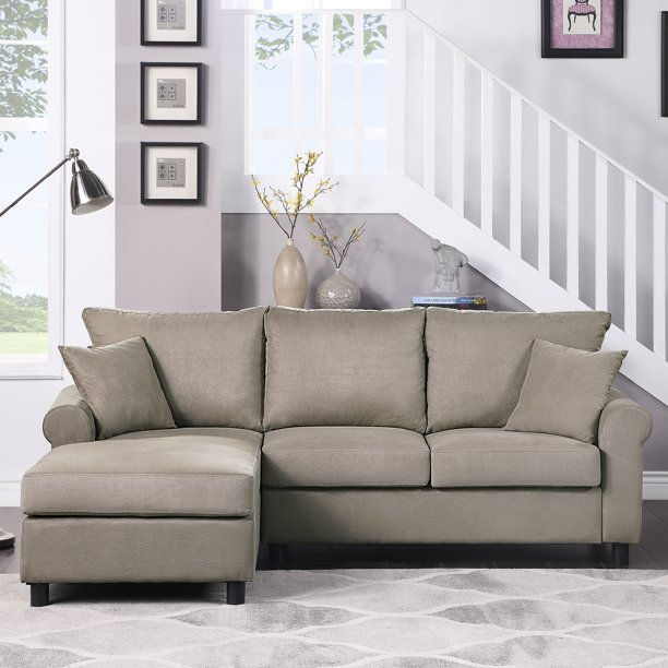SEGMART Mid-Century 2-piece Sectional Sofa Sets on Sale, 35'' x 85