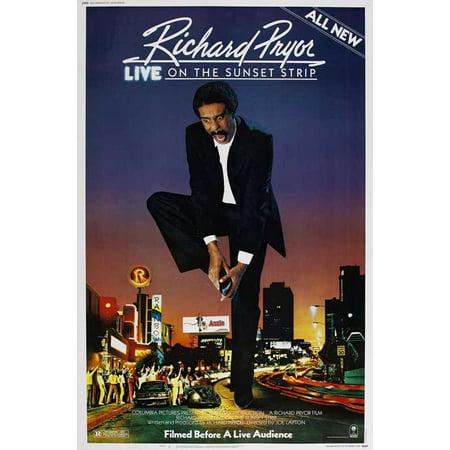 Richard Pryor Live on the Sunset Strip POSTER Movie Mini Promo