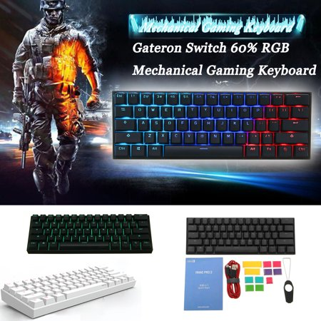 Anne Pro NKRO 4.0 Type-C RGB Mechanical Gaming Keyboard