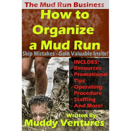 How to Organize a Mud Run - eBook