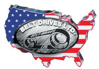 Belt Drives 3in HTD Rubber Belt for EVO-9SF Drive Kit BDL-141-3