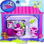 Littlest Pet Shop Squirrel & Baby Squirrel Figure