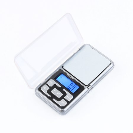 Mini Digital Pocket Scale - Digital Milligram Scale 500g/0.1g,Jewelry Scale Digital Weight Mini LCD Pocket Scale