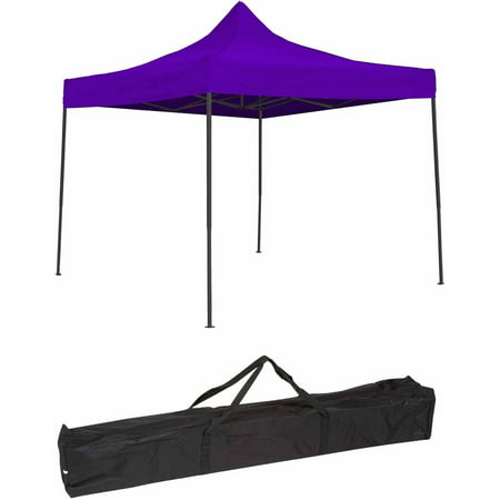 sports shoes bc610 0f60d Trademark Innovations Lightweight and Portable Canopy Tent Set, 10' x 10',  Purple Canopy Cover