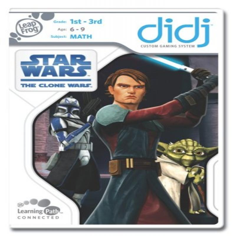 LeapFrog Didj Custom Learning Game Star Wars: The Clone Wars by