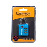 Miami Carry On Unisex Adult TSA 3 Combination Lock One Size  US