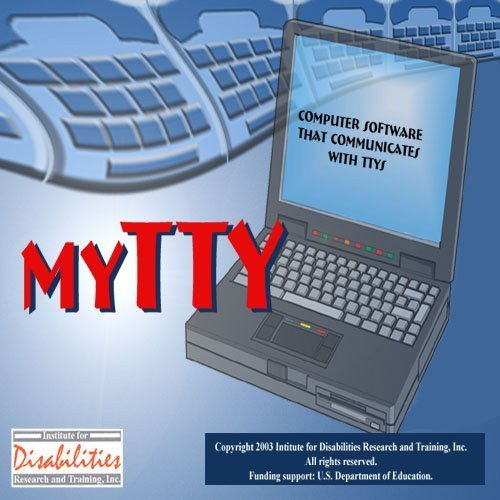 LAN myTTY 3.0 Software Phone System for 4 Seats & 4 Lines Computer Servers Deaf and Hearing Impaired Individuals for Windows Only