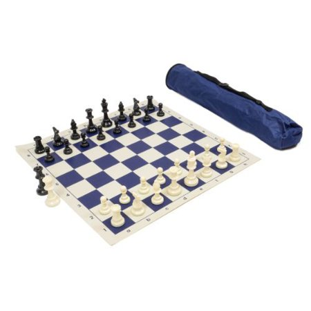 Wholesale chess Archer chess Set combo - Navy Blue - image 1 of 1