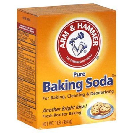 Arm & Hammer Baking Soda Natural Cleaner Fridge-n- Freezer Odor Absorber 16 Ounces (Pack Of 3) ()
