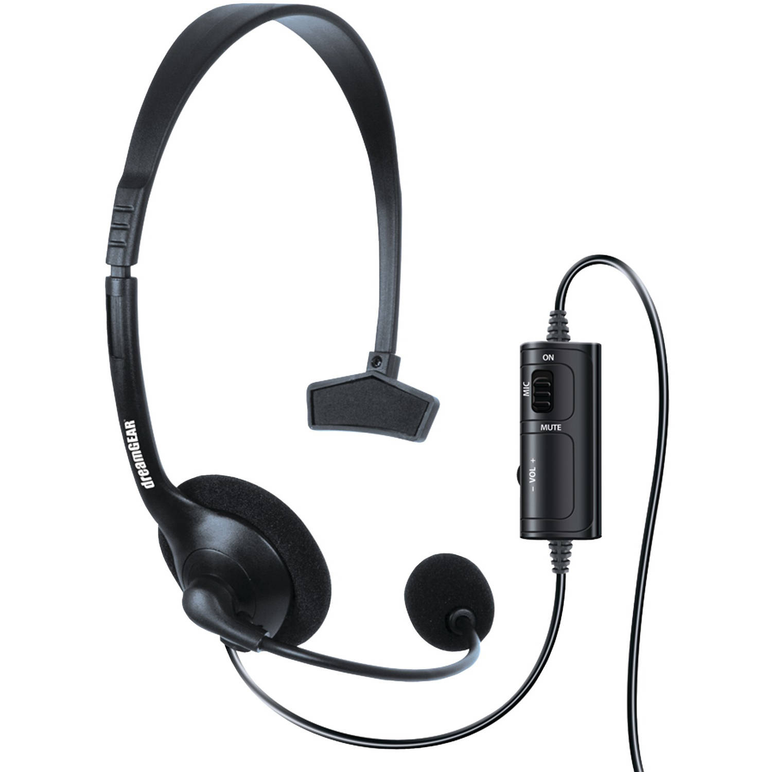 dreamGEAR DGXB1-6622 Xbox One Wired Broadcaster Headset