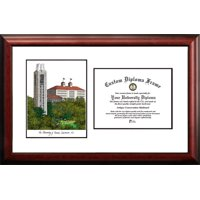 "University of Kansas 8.5"" x 11"" Scholar Diploma Frame"