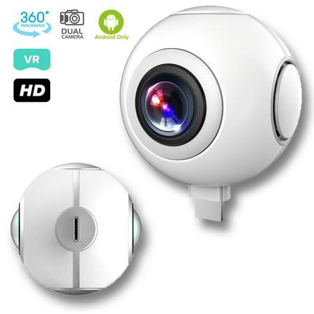 Indigi® 720 Degree VR Camera Sport Video Recorder Fisheye Panorama for Android ()