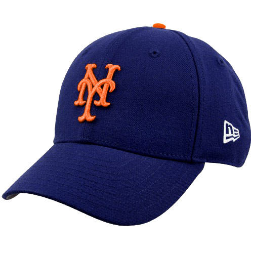 New York Mets New Era Youth The League 9Forty Adjustable Hat - Royal - No Size
